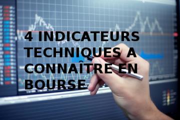 connaitre indicateurs techniques en Bourse