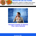 La Bourse via le marché actions comme solution d'épargne de long terme pour votre retraite